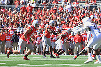 The Ohio State University Football team compete against the University of Maryland. Columbus, OH. September10, 2015