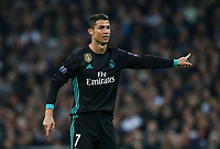 Cristiano Ronaldo of Real Madrid during the UEFA Champions League Group H match between Tottenham Hotspur and Real Madrid at Wembley Stadium on November 1st 2017 in London, England. Foto Phc / Panoramic / Insidefoto