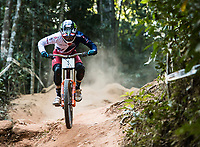 Picture by Alex Broadway/SWpix.com - 10/09/17 - Cycling - UCI 2017 Mountain Bike World Championships - Downhill - Cairns, Australia - Danny Hart of Great Britain competes in the Men's Elite Downhill Final.