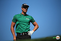 Henrik Stenson (SWE) on the 4th tee during the Final Round of the 2016 Omega Dubai Desert Classic, played on the Emirates Golf Club, Dubai, United Arab Emirates.  07/02/2016. Picture: Golffile | David Lloyd<br /> <br /> All photos usage must carry mandatory copyright credit (&copy; Golffile | David Lloyd)