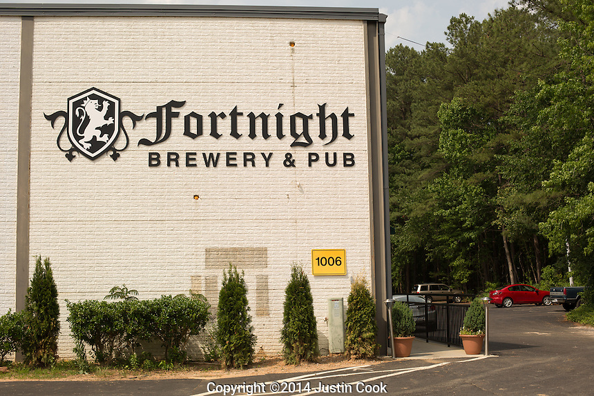 Fortnight Brewery in Cary, N.C. on Wednesday, May 28, 2014. (Justin Cook)