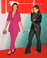 Lucy Watson and Alexandra &quot;Binky&quot; Felstead at the &quot;Tomb Raider&quot; European film premiere, Vue West End cinema, Leicester Square, London, England, UK, on Tuesday 06 March 2018.<br /> CAP/CAN<br /> &copy;CAN/Capital Pictures