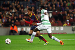 UEFA Champions League 2013/2014.<br /> FC Barcelona vs Celtic FC: 6-1 - Game: 6.<br /> Neymar vs Ambrose.