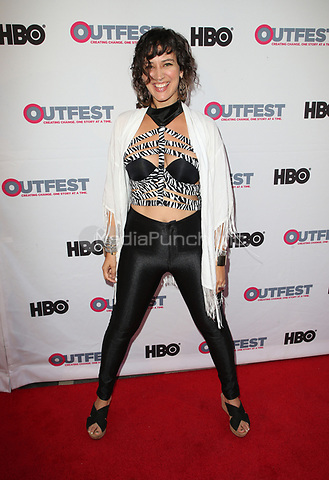 "LOS ANGELES, CA- ANML, At 2017 Outfest Los Angeles LGBT Film Festival - Closing Night Gala Screening Of ""Freak Show"" at The Theatre at Ace Hotel, California on July 16, 2017. Credit: Faye Sadou/MediaPunch"