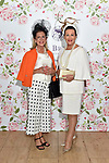 Liz Maher, finalist and Faith Amond, Carlow Best Dressed Lady at the Killarney Apres Races party in The Brehon Hotel, Killarney on Thursday night.<br /> Photo: Don MacMonagle<br /> <br /> repro free photo<br /> further info: Aoife O'Donoghue aoife.odonoghue@gleneaglehotel.com