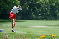 Nelly Korda (USA) watches her tee shot on 11 during round 1 of the 2018 KPMG Women's PGA Championship, Kemper Lakes Golf Club, at Kildeer, Illinois, USA. 6/28/2018.<br /> Picture: Golffile | Ken Murray<br /> <br /> All photo usage must carry mandatory copyright credit (&copy; Golffile | Ken Murray)