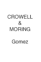 Crowell & Moring Gomez