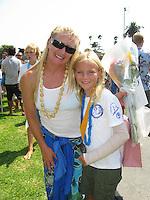 Friday August 14th 2009, Santa Clara Place, San Diego, CA USA:  Junior Lifeguard Graduation Ceremony.