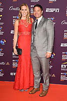Helen Glover &amp; Steve Backshall at the BT Sport Industry Awards 2017 at Battersea Evolution, London, UK. <br /> 27 April  2017<br /> Picture: Steve Vas/Featureflash/SilverHub 0208 004 5359 sales@silverhubmedia.com