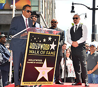 LOS ANGELES, CA. April 18, 2019: Cypress Hill, ERic Bob Correa, B Real, Sen Dog, B Real &amp; DJ Muggs at the Hollywood Walk of Fame Star Ceremony honoring hip-hop group Cypress Hill.<br /> Pictures: Paul Smith/Featureflash