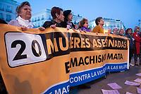 2019 03 25 Concentration against gender violence in Madrid