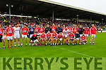 Cork Team before the Munster Final at Fitzgerald Stadium, Killarney on Saturday evening.