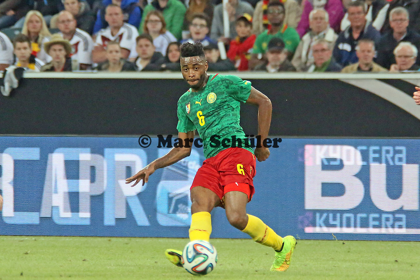 Alexandre Song (CAM) - Deutschland vs. Kamerun, Mönchengladbach