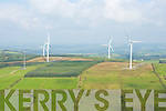 An Aerial view of Windfarm, County Kerry