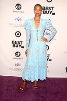 LOS ANGELES - NOV 8:  Zoe Saldana at the Eva Longoria Foundation Gala at the Four Seasons Hotel on November 8, 2018 in Beverly Hills, CA