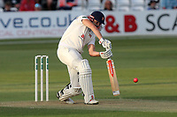 Nick Browne in batting action Essex during Essex CCC vs Middlesex CCC, Specsavers County Championship Division 1 Cricket at The Cloudfm County Ground on 26th June 2017