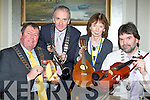 Launching the Killarney Rotary club Young Musician of the Year in the Malton Hotel, Killarney on Tuesday night was l-r:  Barney Callaghan District Governor of Rotary Ireland, Aidan Kelly Tralee President,  Annette Cremin incoming President of Dingle Rotary and Sean Tracey President of the Killarney Rotary, the competition will commence in Killarney on the first weekend in March