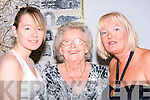 FAMILY: The Brosnan family  Natasha, Esther and June Brosnan, from Kerins Park, Tralee who were at the Kerins Park, first social in the Brandon Hotel, tralee on Saturday night. .........