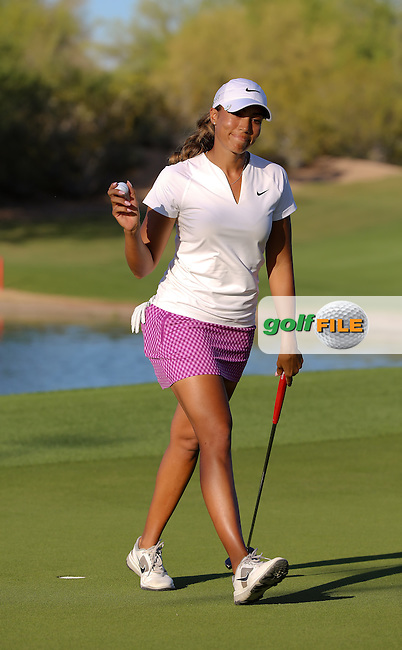 22 MAR15  Royal order of Cheyenne Woods at Sunday's Final Round of the JTBC Founder's Cup at The Wildfire Golf Club in Scottsdale, Arizona. (photo credit : kenneth e. dennis/kendennisphoto.com)