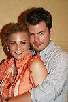 Gina Tognoni and Jeff Branson donate time for the 4th Annual Fashion Show & Luncheon - Share in the Hope - Reach To Recovery on April 26, 2009 at Embassy Suites Hotel, Coraopolis, PA. The event benefits Young women's Breast Cancer Awareness Foundation. (Photo by Sue Coflin/Max Photos)