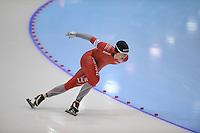 SCHAATSEN: HEERENVEEN: IJsstadion Thialf, 18-11-2012, Essent ISU World Cup, Season 2012-2013, Men 1500 meter Division A, Sverre Lunde Pedersen (NOR), ©foto Martin de Jong
