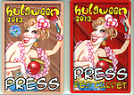 """Bette Midler's New York Restoration Project's Annual """"Hulaween in the Big Easy"""" at  the Waldorf Astoria on October 31, 2013  in New York City."""