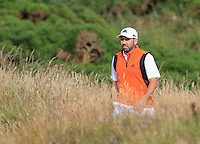 Sergio Garcia (ESP) walks to the 14th green during Thursday's Round 1 of the 145th Open Championship held at Royal Troon Golf Club, Troon, Ayreshire, Scotland. 14th July 2016.<br /> Picture: Eoin Clarke | Golffile<br /> <br /> <br /> All photos usage must carry mandatory copyright credit (&copy; Golffile | Eoin Clarke)