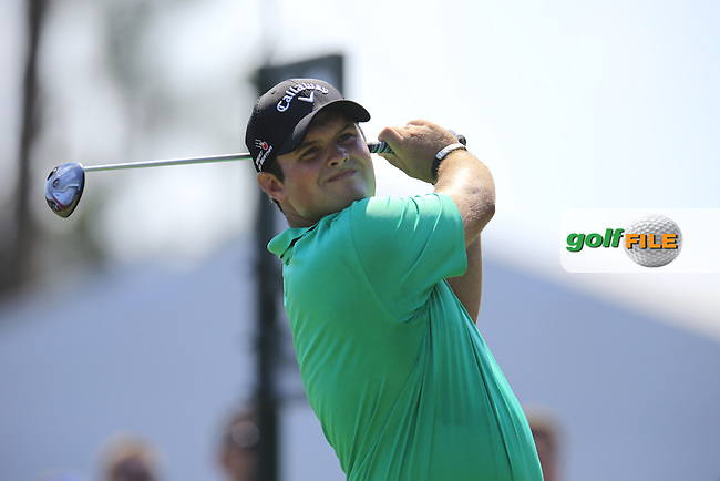 Patrick Reed (USA) during round 1of the Players, TPC Sawgrass, Championship Way, Ponte Vedra Beach, FL 32082, USA. 12/05/2016.<br /> Picture: Golffile | Fran Caffrey<br /> <br /> <br /> All photo usage must carry mandatory copyright credit (&copy; Golffile | Fran Caffrey)