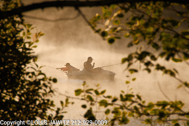 Fallsburg morning fisherman