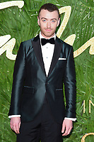 Sam Smith<br /> arriving for The Fashion Awards 2017 at the Royal Albert Hall, London<br /> <br /> <br /> &copy;Ash Knotek  D3356  04/12/2017