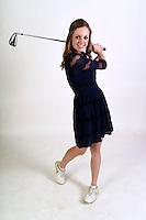 NWA Democrat-Gazette/MICHAEL WOODS • @NWAMICHAELW<br /> Girls Golfer of the Year, Kate Robertson from Bentonville, Thursday, November 19, 2016.