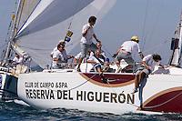 DEN37  .RESERVA DEL HIGUERON  .GUILLERMO RODRIGUEZ  .C.N. BENALMADEN  .X-37 .II Campeonato del Mundo de Vela IMS670 - Agosto 2006 - Real Club Náutico de El Puerto de Santa María