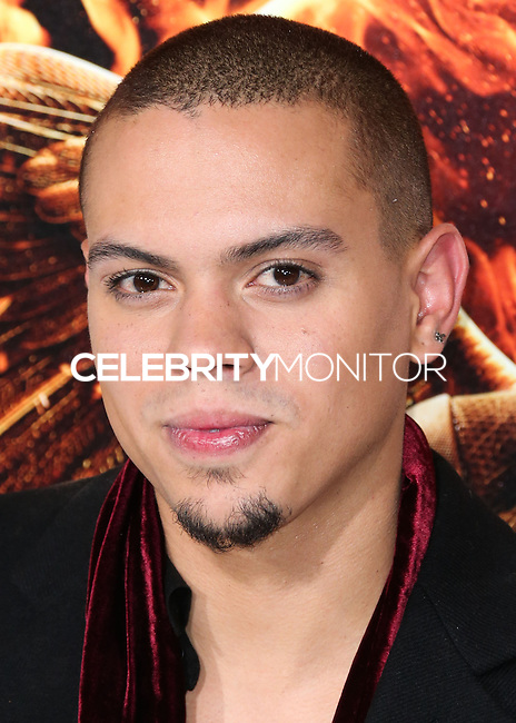 LOS ANGELES, CA, USA - NOVEMBER 17: Evan Ross arrives at the Los Angeles Premiere Of Lionsgate's 'The Hunger Games: Mockingjay, Part 1' held at Nokia Theatre L.A. Live on November 17, 2014 in Los Angeles, California, United States. (Photo by Xavier Collin/Celebrity Monitor)