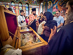 Vespers service with His Holiness Irinej to venerate the relics of St. Mardarije of Libertyville, St. Sava Church<br /> <br /> #NGMWADiocese<br /> #GlorificationStMardarije, #Chicago, #PatriarchIrinej, #MetropolitanAmphiloije<br /> #SerbianOrthodoxChurch<br /> #www.stsavamonastery.org