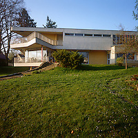 Haus Schminke was designed in 1933 by architect Hans Scharoun who supervised every detail of its construction