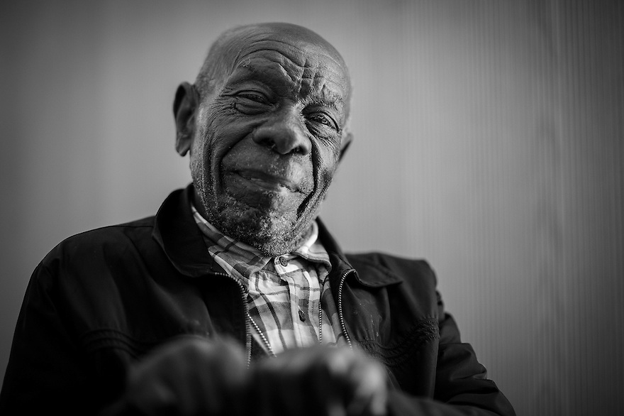 Deacon Willie Robinson at 101 is the oldest Gullah resident of St. Helena Island.