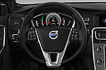 Car pictures of steering wheel view of a 2018 Volvo S60 R-Design 4 Door Sedan Steering Wheel