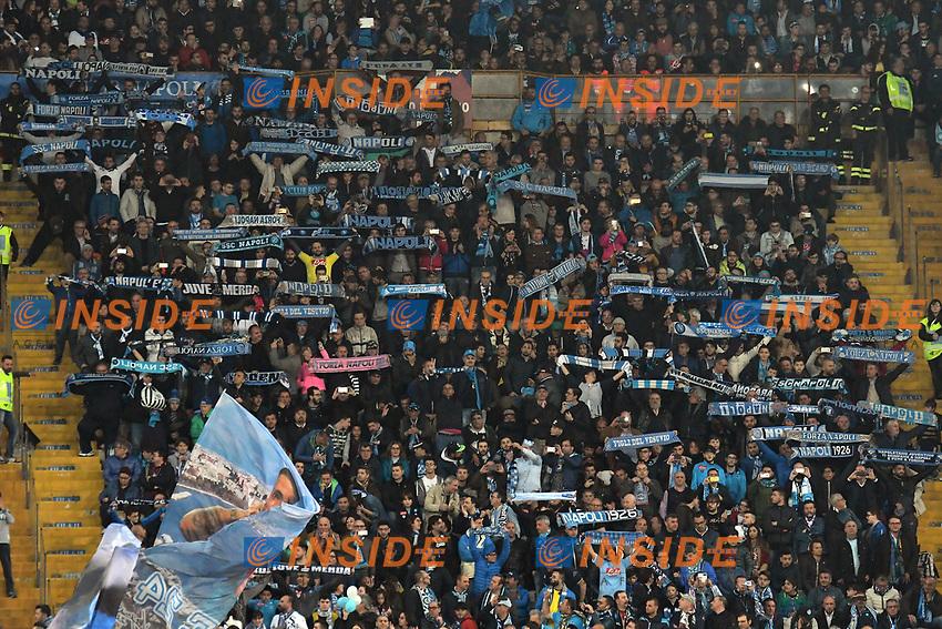 Tifosi Napoli Supporters <br /> Napoli 05-04-2017 Stadio San Paolo Football <br /> Calcio Coppa Italia 2016/2017 Semifinale Napoli - Juventus Foto Andrea Staccioli / Insidefoto