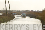 Flooding on the Tralee Balllyheigue road on Sunday