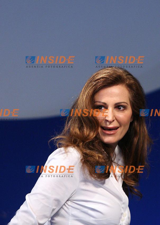Roma, 05/01/06 Conferenza programmatica di Alleanza Nazionale. Nella foto Daniela Santanche'.<br /> Photo Samantha Zucchi Insidefoto