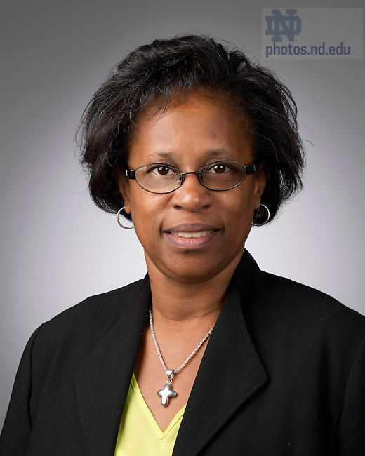 Oct. 8, 2012; Ava Bytner, Office Services Coordinator, University Communications.  Photo by Barbara Johnston/University of Notre Dame