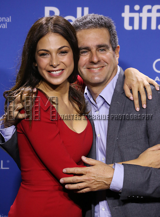 """Moran Atias and Michael Nozik attending the 2013 Tiff Film Festival Photo Call for """"Third Person""""  at the Tiff Bell Lightbox on September 10, 2013 in Toronto, Canada."""