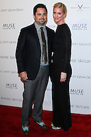 "WEST HOLLYWOOD, CA, USA - FEBRUARY 27: Andy Cotton, Kelley Macphee at the 5th Anniversary Celebration Of Suzy Amis Cameron's Ecofashion Campaign ""Red Carpet Green Dress"" held at Palihouse on February 27, 2014 in West Hollywood, California, United States. (Photo by David Acosta/Celebrity Monitor)"
