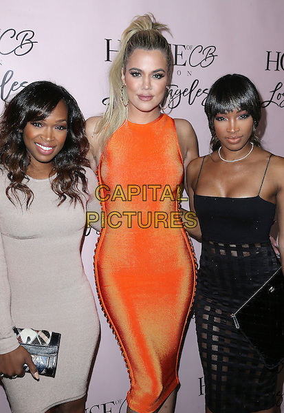 14 June 2016 - West Hollywood, California - Khadijah Haqq, Khloe Kardashian, Malika Haqq. House of CB Flagship Store Launch held at The House of CB Store. <br /> CAP/ADM/SAM<br /> &copy;SAM/ADM/Capital Pictures