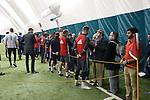 08 December 2016: After training, players talk with the media. Toronto FC held a training session at the Kia Training Ground in Toronto, Ontario in Canada two days before playing in MLS Cup 2016.