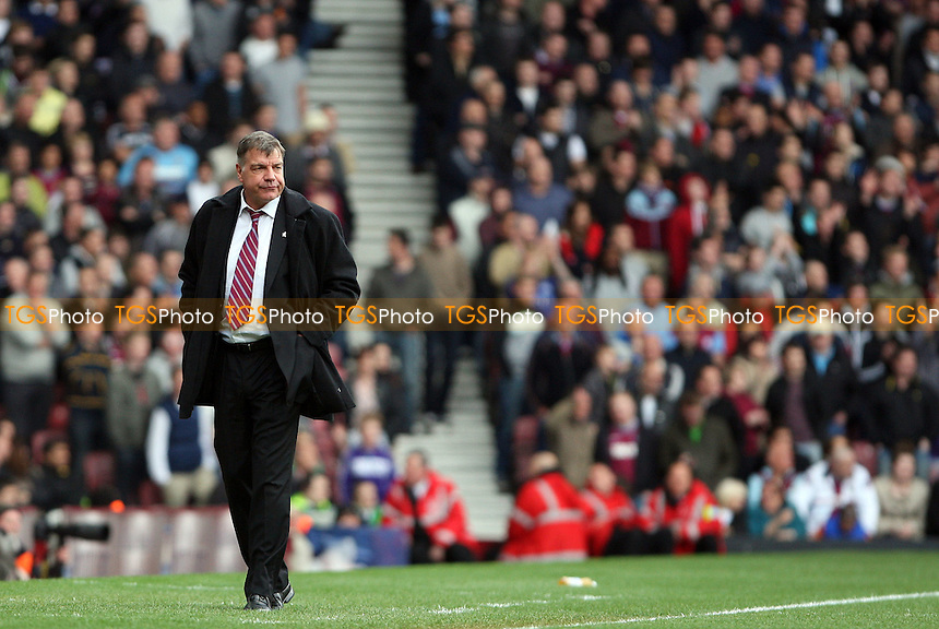 West Ham manager Sam Allardyce - West Ham United vs Brighton & Hove Albion, npower Championship at Upton Park, West Ham - 14/04/12 - MANDATORY CREDIT: Rob Newell/TGSPHOTO - Self billing applies where appropriate - 0845 094 6026 - contact@tgsphoto.co.uk - NO UNPAID USE..