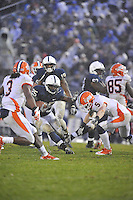 29 October 2011:  Penn State RB Silas Redd (25)..The Penn State Nittany Lions defeated the Illinois Fighting Illini 10-7 to at Beaver Stadium in State College, PA..