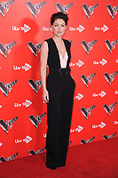 Emma Willis at the photocall for The Voice UK 2018 launch at Ham Yard Hotel, London, UK. <br /> 03 January  2018<br /> Picture: Steve Vas/Featureflash/SilverHub 0208 004 5359 sales@silverhubmedia.com