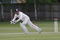 T Shaw of Brondesbury during Finchley CC vs Brondesbury CC (batting), ECB National Club Championship Cricket at Arden Field on 12th May 2019