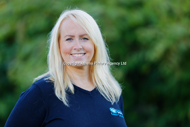 Pictured: Fay Sykes. Wednesday 11 October 2018 <br /> Re: Clydach Construction in Clydach, south Wales, UK.